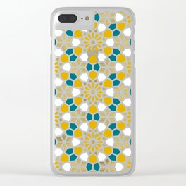 Persian Mosaic – Marigold Palette Clear iPhone Case