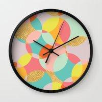 fancy Wall Clocks featuring Fancy by K&C Design