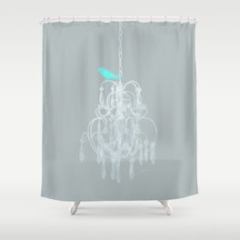 Pretty Classy Bird Shower Curtain