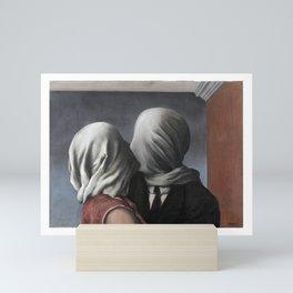 The Lovers II (Les Amants) 1928, Artwork Rene Magritte For Prints, Posters, Shirts, Bags Men Women K Mini Art Print