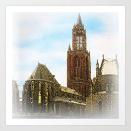 Church @ Lille, France Art Print