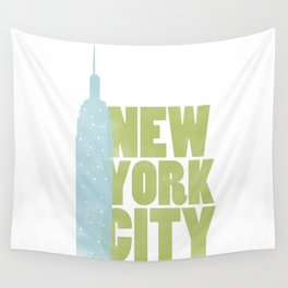New York City - Empire State Wall Tapestry