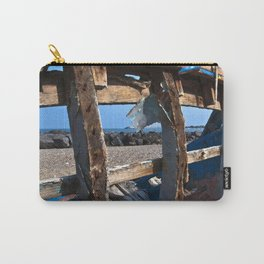 OLD WRECK of GIARDINI NAXOS at SICILY - SICILIA BEDDA Carry-All Pouch