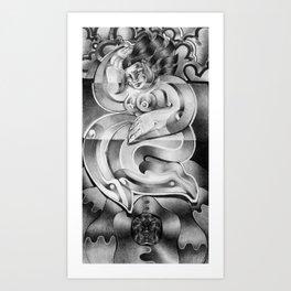 Ecstacy Art Print