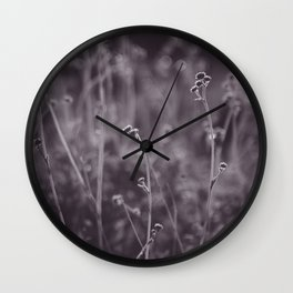 Desert Grasses Wall Clock