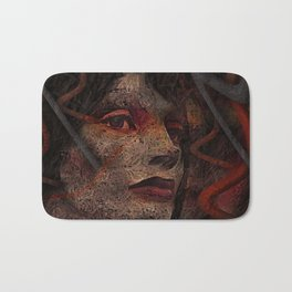 Shell - Cyborg Portrait Bath Mat