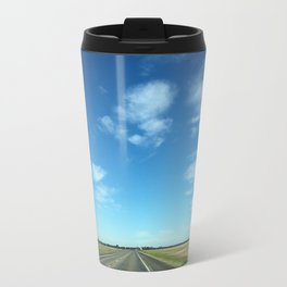 open road, texas Travel Mug