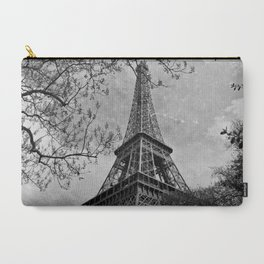 Half a Eiffel Tower Carry-All Pouch