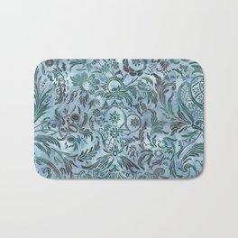 Watercolor Damask Pattern 08 Bath Mat