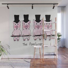 The Porkformers Wall Mural