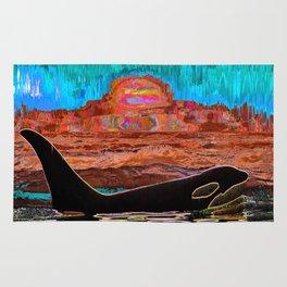 Orca Sunset Rug
