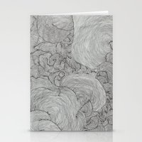 the strokes Stationery Cards featuring Strokes by Sarah Renee G.