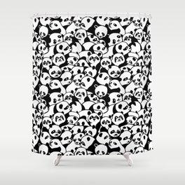 Oh Panda Shower Curtain