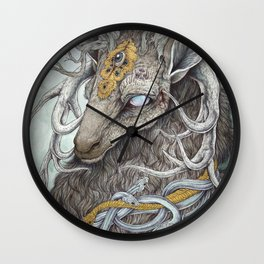 In Memory, as a print Wall Clock