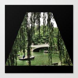 A Ride Through Central Park Canvas Print