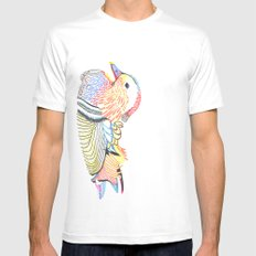 wood duck Mens Fitted Tee White MEDIUM