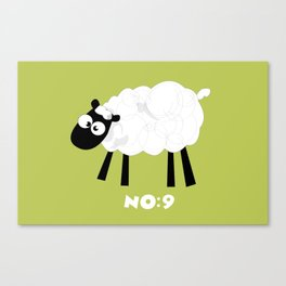 Sheep Number 9.... Canvas Print