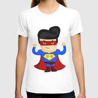 superhero T-shirts featuring Superhero by Inkley
