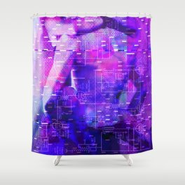 It's Just Not Gonna Happen < The NO Series (Purple) Shower Curtain