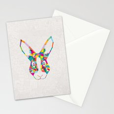 Rainbow Rabbit Stationery Cards