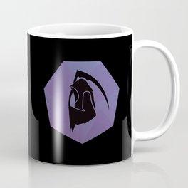 Scythe Badge on Black Coffee Mug