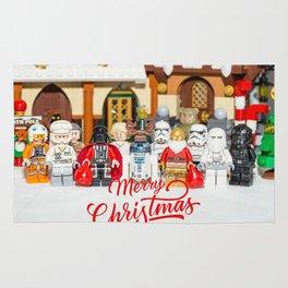 Star war Christmas Rug