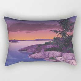 French River Provincial Park Rectangular Pillow