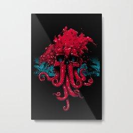 Eldritch Feel (Red Variant) Metal Print