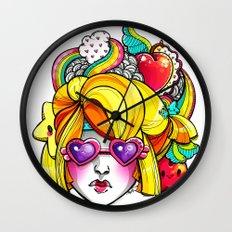 Harvest Cutie Wall Clock