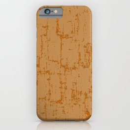 Ocher yellow background iPhone Case