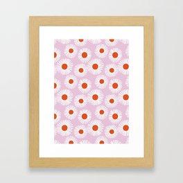 Daisy Starbusrt Framed Art Print