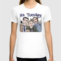 enerjax T-shirts featuring It's Tuesday by enerjax