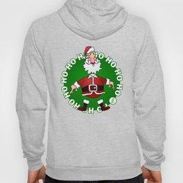 Sants Claus laughing: Ho Ho Ho Hoody