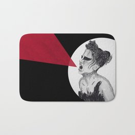 Black Swan IV Bath Mat
