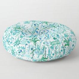 IDEAL BEACH HOUSE Santa Cruz Toile Floor Pillow