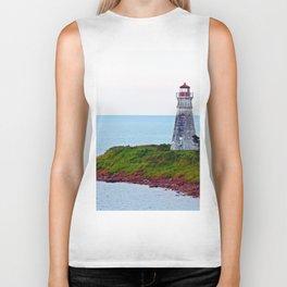 Lighthouse Cape Jourimain N-B Biker Tank