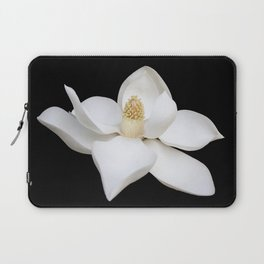 "HOME DECOR,""Wake Up and Smell the Lilies"",Black,White,Pillows,Wall Tapestries,ART prints,Wall Art Laptop Sleeve"