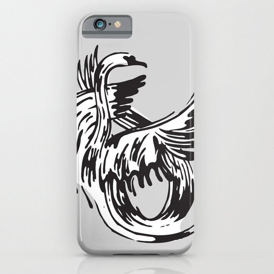 S as in Swan iPhone & iPod Case