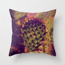 Cactus, Gentle thorns Throw Pillow