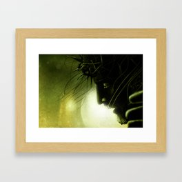 Crucified Jesus Framed Art Print