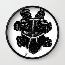 Bantu Knot By Sight Wall Clock
