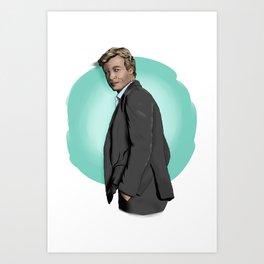 Mr Jane Art Print