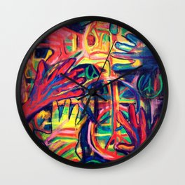 There's No Peace Like This Piece Wall Clock