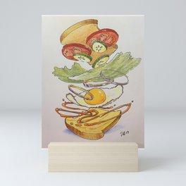 Egg sammich! Mini Art Print