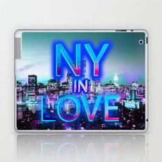 NY in love Laptop & iPad Skin