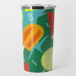 Watermelon, Lemon and Ice Lolly Travel Mug