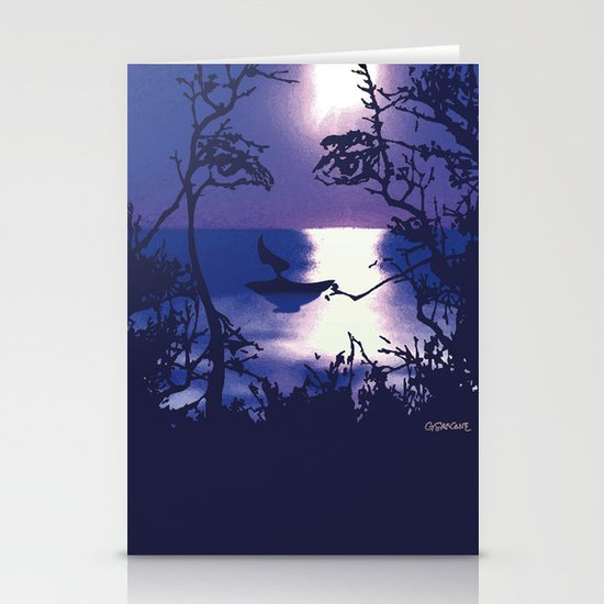 Vesperal Apparition Stationery Cards