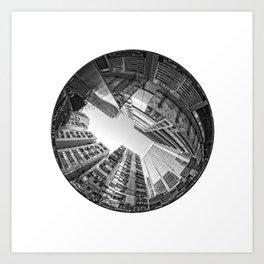 Circular Fisheye #5 Art Print