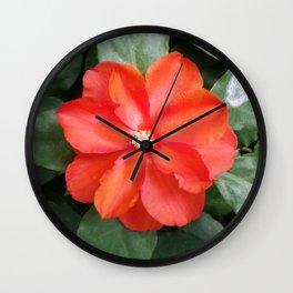 GLORIOUS ORANGE Wall Clock