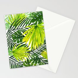 Green Palms Stationery Cards